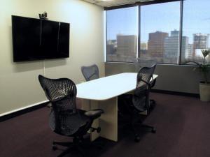 Smaller Boardroom with videoconferencing